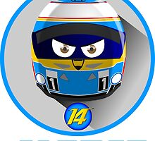 Fernando ALONSO_Helmet 2015 #14 by Cirebox