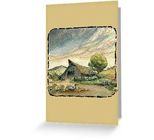 Old Weathered Barn Greeting Card