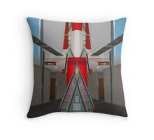 Rocket Stairs Throw Pillow