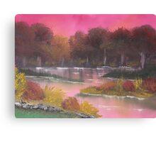 Magenta Sky Canvas Print