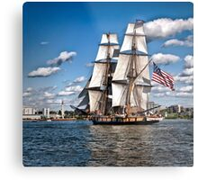 Sailing Home - Erie, PA Metal Print
