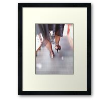 Hi heels by Ricky Framed Print