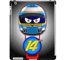 Fernando ALONSO_Helmet 2015 #14 iPad Case/Skin