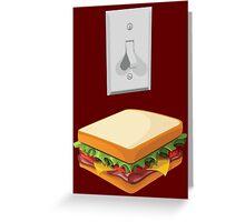 Team Light-switch Sandwich Greeting Card