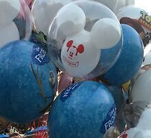 Disneyland Balloons by DownWithTrish