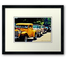 The Classic Caravan Framed Print