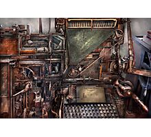 Steampunk - Machine - All the bells and whistles  Photographic Print