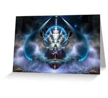 Thera Of Titan The Serenity Of Time Greeting Card