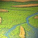 The Rice Fields #7 by Elizabeth Bravo