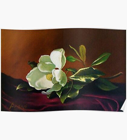 Still Life with Gardenia Poster