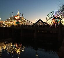 Paradise Pier - Disney CA Adventure by DownWithTrish