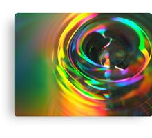 Drop of Colour Canvas Print