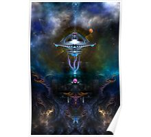 Space Station Ansarious Poster