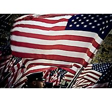 Flags Photographic Print