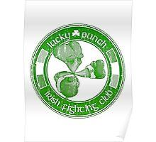 Lucky Punch Irish Fighting Club Poster