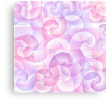 Abstract spiral background Canvas Print