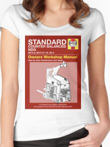 AGV User Manual BW Women's Fitted Scoop T-Shirt