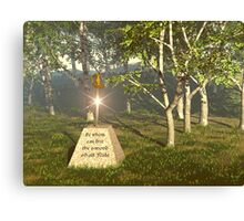 Sword In The Stone Canvas Print
