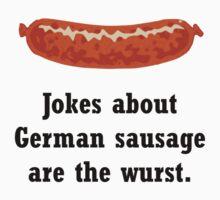 German Sausage Pun T-Shirt