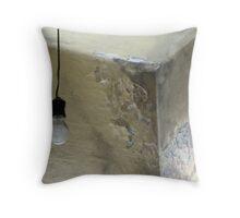 Forgotten corner Throw Pillow