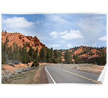 Into Red Canyon Poster