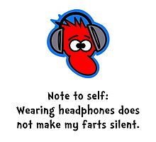 Headphone Farts by TheBestStore