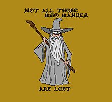 Gandalf The Lost by banditcartoons