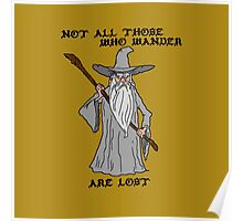 Gandalf The Lost Poster