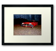 Christine - Plymouth 1958 Framed Print