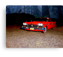 Christine - Plymouth 1958 Canvas Print