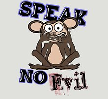Speak No Evil Monkey Tee Unisex T-Shirt