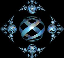 Incendia Synchronicity In Blue by Hypnogoddess