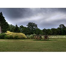 Rural landscape - HDR Photographic Print