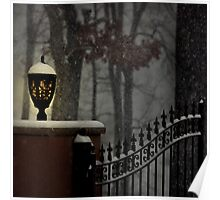 Snow Falling Poster
