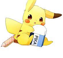 Pikachu Eraser by rewydo