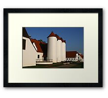 Normandy Dairy at Berry College Framed Print