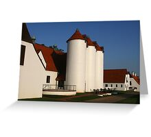 Normandy Dairy at Berry College Greeting Card