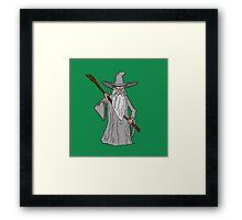 Gandalf Framed Print