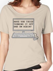 THE IT CROWD - Have You Tried Turning It Off And On Again? Women's Relaxed Fit T-Shirt