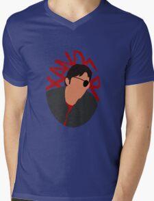 Xander Silhouette Mens V-Neck T-Shirt
