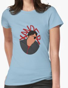 Xander Silhouette Womens Fitted T-Shirt