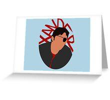 Xander Silhouette Greeting Card
