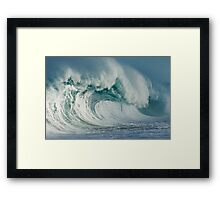 Raw Power Framed Print