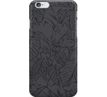 The Plant (space grey) iPhone Case/Skin