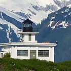 Point Retreat Lighthouse by erbephoto