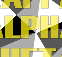 Geometric Kappa Alpha Theta Sticker
