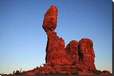 Balanced Rock by Harry Snowden