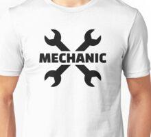 Crossed screw wrench mechanic Unisex T-Shirt