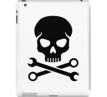 Skull mechanic iPad Case/Skin