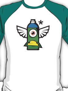 Cartoon Spray T-Shirt